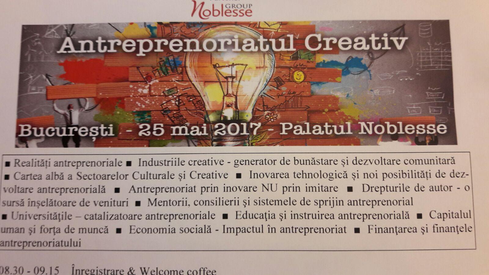 antreprenoriat creativ